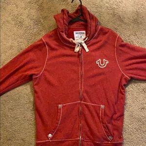 True religion zip hoodie
